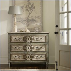 Hooker Furniture Windermere Hand-Painted Three Drawer Chest