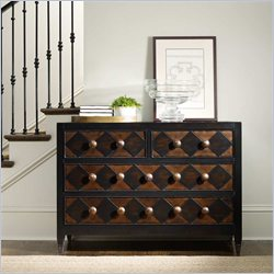 Hooker Furniture Four Drawer Diamond Front Chest