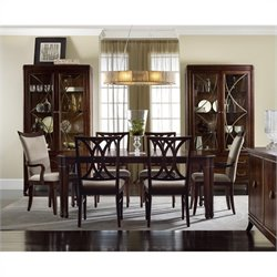 Hooker Furniture Palisade Rectangle Dining Table in Walnut