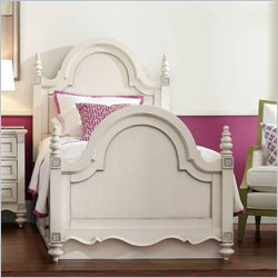 Hooker Furniture Opus Designs Claire Full Panel Bed in White