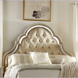 Hooker Furniture Sanctuary Upholstered Headboard in Pearl Essence - California King-King