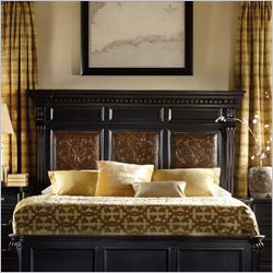 Hooker Furniture Telluride Mantle Headboard in Black - California King-King