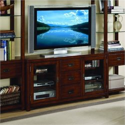Hooker Furniture Danforth 56'' Gaming Console in Rich Medium Brown