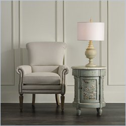 Hooker Furniture Round Accent Chest in Greens