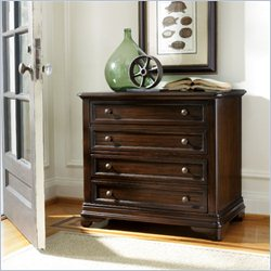 Hooker Furniture Sheridan 2-Drawer Lateral File in Antique Mahogany