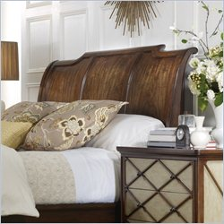 Hooker Furniture Classique California King-King Platform Sleigh Headboard in Medium Chestnut