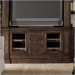Hooker Furniture Rhapsody 68'' Entertainment Console in Rustic Walnut