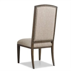 Hooker Furniture Rhapsody Insignia  Dining Chair in Rustic Walnut