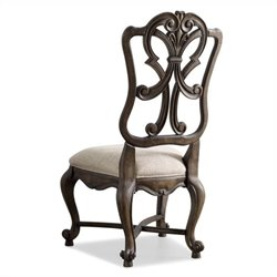 Hooker Furniture Rhapsody  Back  Dining Chair in Rustic Walnut