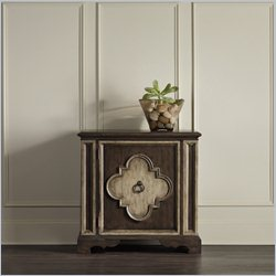 Hooker Furniture 1-Door Accent Chest in Dark Birch