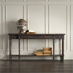 Hooker Furniture DaValle Console Table in Dark Hickory