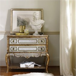 Hooker Furniture 1-Drawer Mirrored File Chest