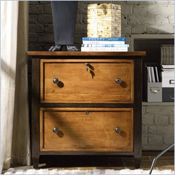 Hooker Furniture 2-Drawer Utility File Cabinet in Light Maple