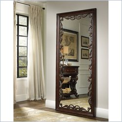 Hooker Furniture Grand Palais Floor Mirror in Dark Walnut