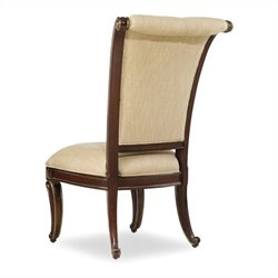 Hooker Furniture Grand Palais Upholstered Dining Chair in Dark Walnut