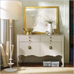 Hooker Furniture 4-Drawer Lateral File Chest in Cream