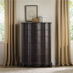 Hooker Furniture Corsica 6-Drawer Accent Chest in Dark Wood