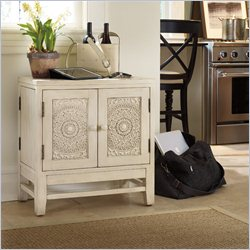 Hooker Furniture 2-Door E-Charge Center in Beige