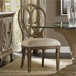 Hooker Furniture Solana Dining Side Chair in Light Oak