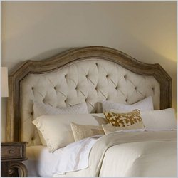 Hooker Furniture Solana Upholstered Panel Headboard in Light Oak - California King-King