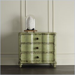 Hooker Furniture 3-Drawer Rose Chest in Weathered Green