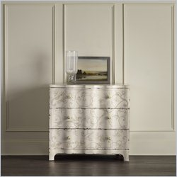 Hooker Furniture 3-Drawer Handpainted Chest in Weathered Beige