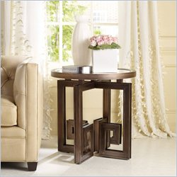 Hooker Furniture Melange Athenia Accent Table in Brown
