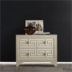 Hooker Furniture Melange 2-Drawer Artemis Chest in Beige