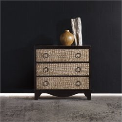 Hooker Furniture Melange 3-Drawer Semblance Chest in Coffee