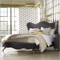 Hooker Furniture Melange Lana Upholstered King Bed in Gray