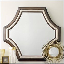 Hooker Furniture Melange Albion Mirror in Cherry and Cream