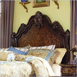 Hooker Furniture Beladora Platform Headboard in Caramel - California King