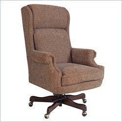 Hooker Furniture Executive Swivel Tilt Chair in Iberia