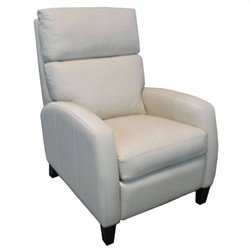 Hooker Furniture Leather Recliner Chair in Axis Linen