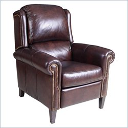 Hooker Furniture Leather Recliner in Verona Mahogany