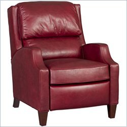 Hooker Furniture Leather Recliner Chair in La Rabida Flower
