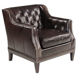 Hooker Furniture Balmoral Blair Stationary Chair in Brown