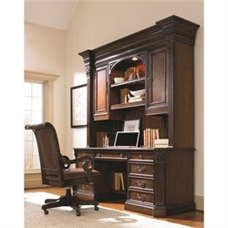 Hooker Furniture European Renaissance II Computer Desk Unit in Cherry