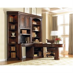 Hooker Furniture European Renaissance II Home Office Unit in Cherry