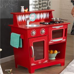 Kidkraft Classic Kitchenette in Red