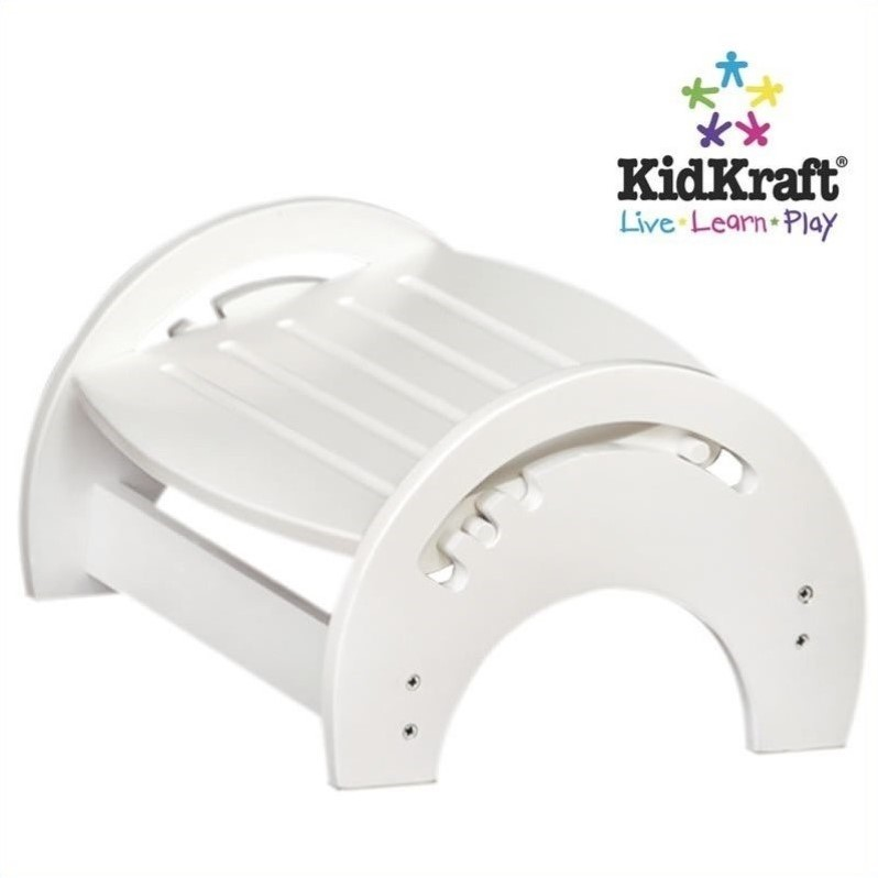 KidKraft Nursing Step Stools in White