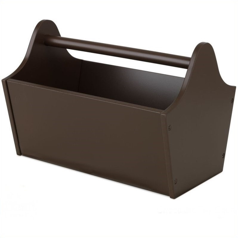KidKraft Toy Caddy in Chocolate