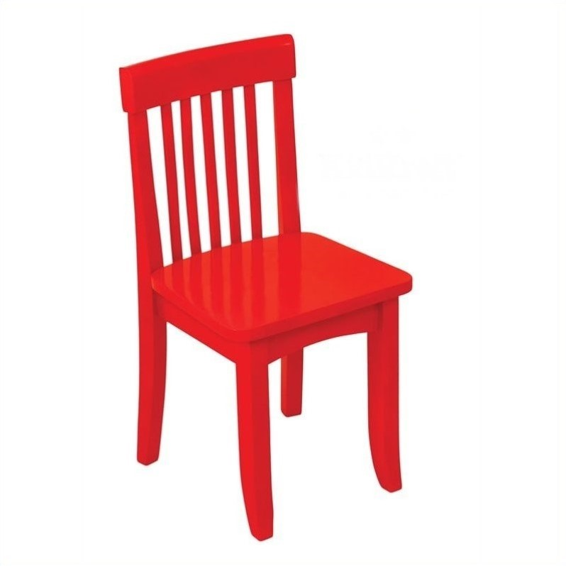 Gentil KidKraft Avalon Seating Chair In Red