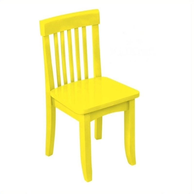 KidKraft Avalon Seating Chair in Yellow