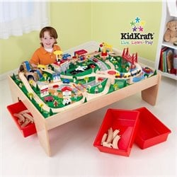 Kidkraft Waterfall Mountain Train Table Set