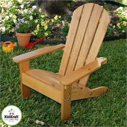 KidKraft Adirondack All-Wood Chair in Honey