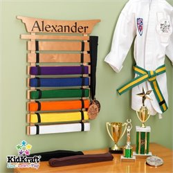 KidKraft Martial Arts Belt Holder (Unpersonalized)