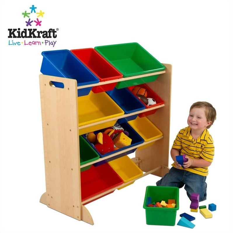 KidKraft Sort It & Store It Bin Unit 3