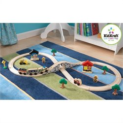 KidKraft Figure 8 Train Set with 38 Pieces