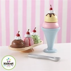 KidKraft Ice Cream Sundae Set